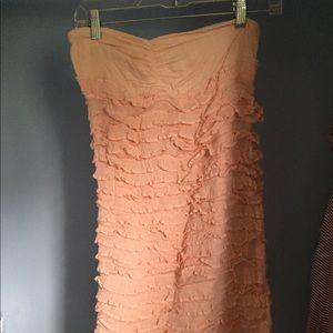 Strapless Light Pink Dress